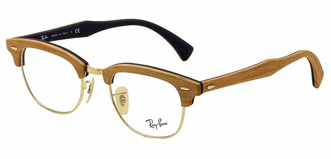 Ray-Ban RX5154M Clubmaster Wood